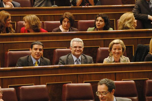 Con los senadores Narvay y Alfredo