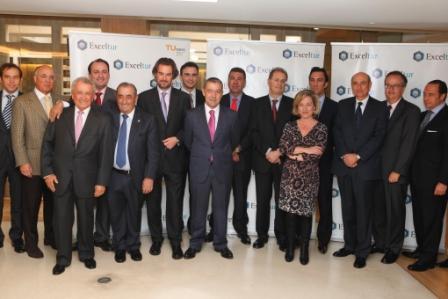 Con los representantes del sector turístico español
