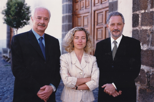 Entre dos grandes presidentes del Cabildo de Tenerife, Ricardo y Adán
