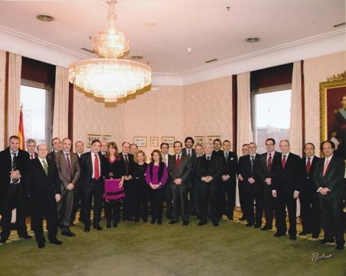 Reunión de los portavoces del Congreso con los directores de los medios de comunicación