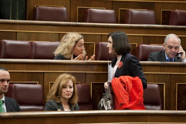 Con la ministra de Cultura, Angeles González Sinde