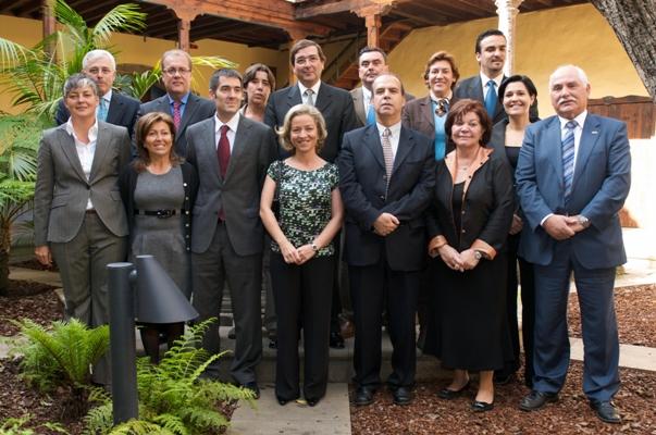 Con mi equipo de gobierno de La Laguna, el día de mi despedida como alcaldesa