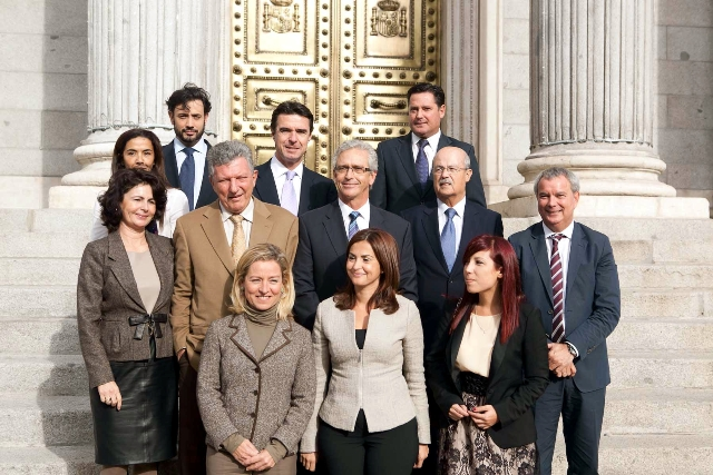 Diputados canarios, el día de la constitución de la cámara