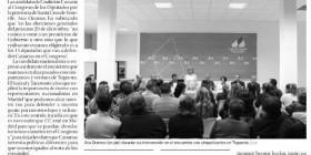 Información publicada en La Opinión de Tenerife sobre Ana Oramas