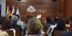 Ana Oramas y Carlos Alonso en la reunión con sectores vinculados al empleo