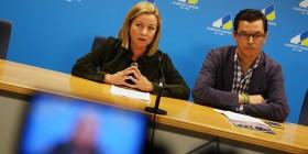 Ana Oramas y Pablo Rodríguez durante la presentación del programa