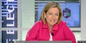 Ana Oramas durante el debate electoral de la Televisión Canaria