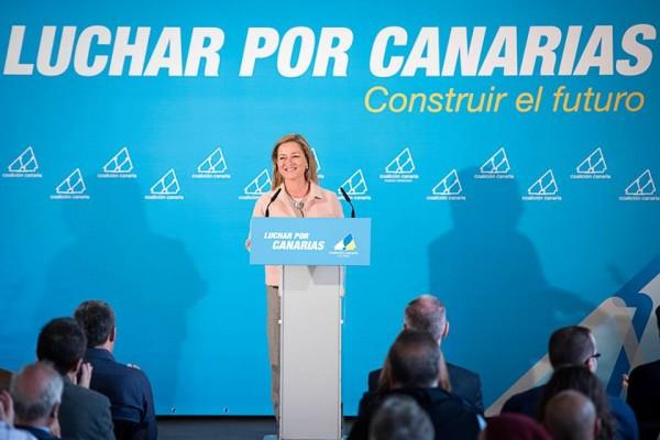 Ana Oramas en La Orotava